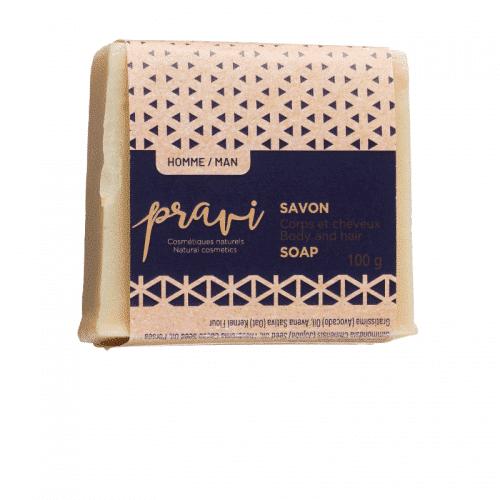 Savon à l'avoine de Pravi cosmétiques naturels